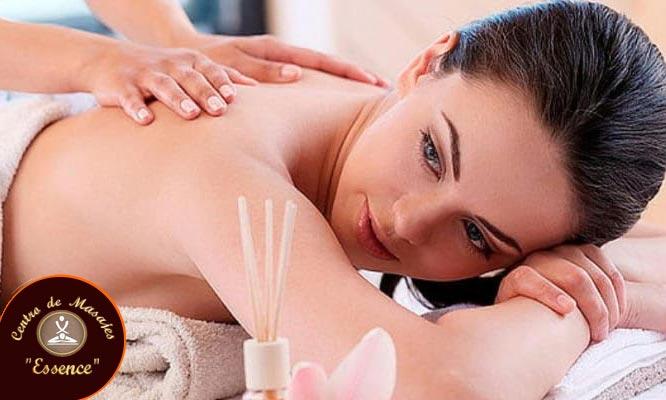 Masaje relajante o descontracturante entre otros por 40 o 60 minutos a elegir