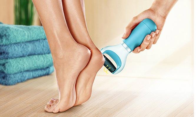 Roller eliminador de callos e impurezas en los pies a pila y USB ¡Delivery en 24 hrs!