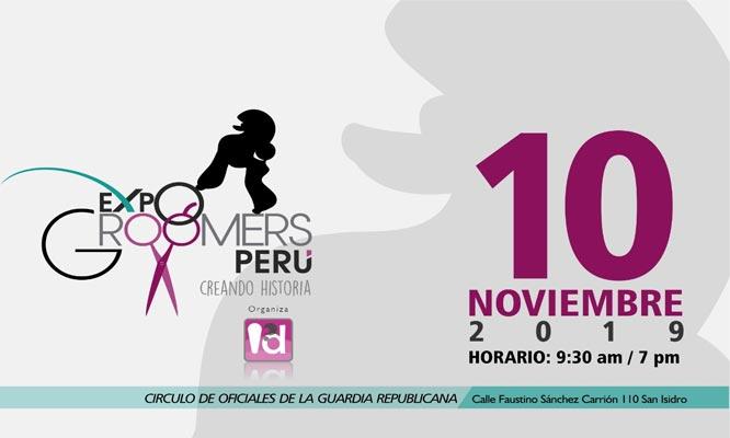Entrada a exposicion Expo Groomers Peru - 10/11