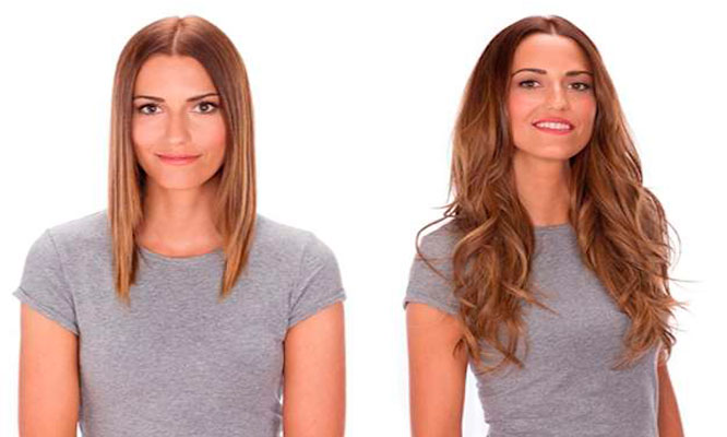 20 extensiones de cabello natural con micro ring delivery