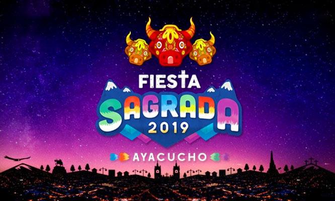 Concierto Fiesta Sagrada 2019 - Ayacucho por 3 dias 18 19 y 20 de abril