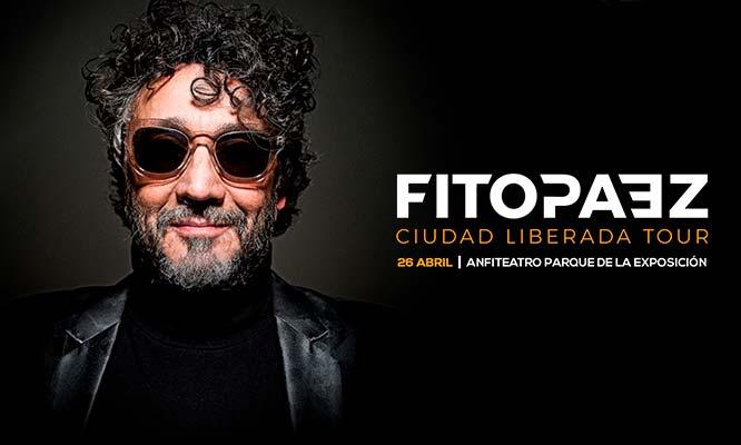 Fito Paez concierto 2019 Ciudad Liberada Tour Parque de la Exposicion