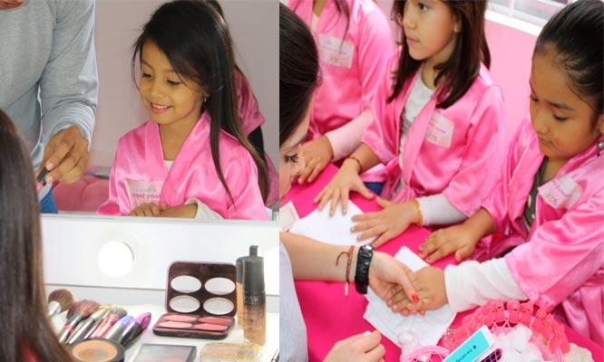 2 horas de diversion para niñas manicure pedicure peinado mascarillas masajes y mas