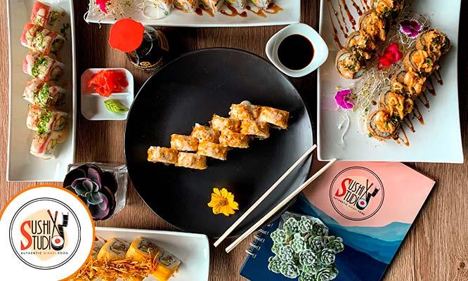 """20 Super MAKIS! Tu los eliges los sabores Bebida Cortesia en """"Sushi Studio"""