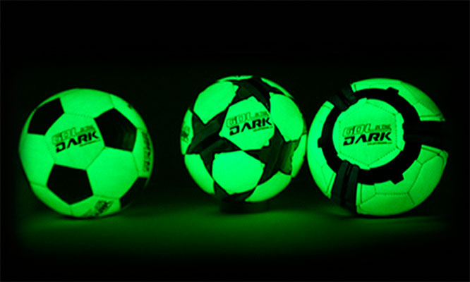 Surco Pelota de futbol que brilla en la oscuridad Gol in the Dark