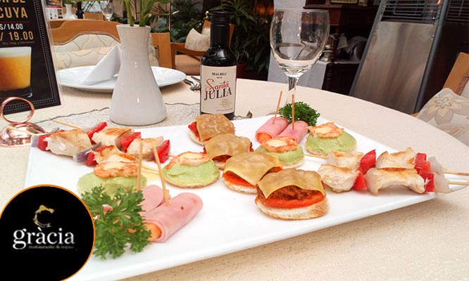 Happy Hour de verano para 2 Chilcanos fuente de piqueo gourmet