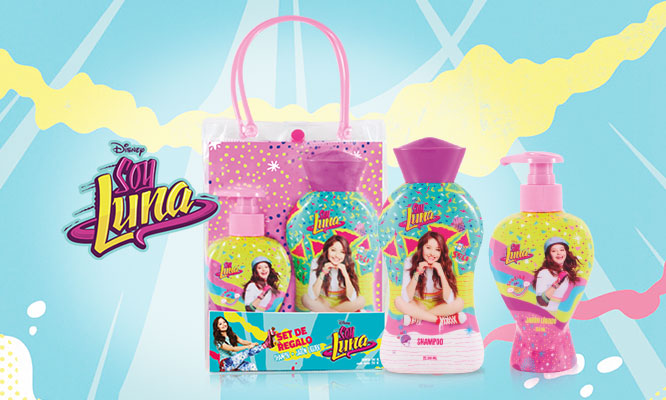 Gift Set Soy Luna con shampoo acondicionador o jabon liquido ¡Elige el set !