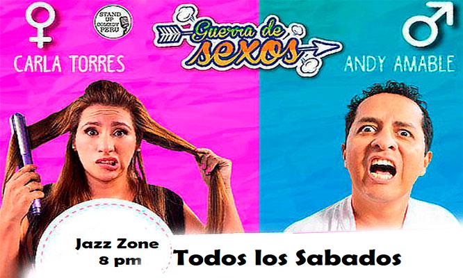 Miraflores 2x1 entradas para Guerra de Sexos Stand Up comedy