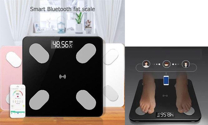 Balanza Digital Inteligente Bluetooth ¡Elige color!¡Con delivery en 24hrs!
