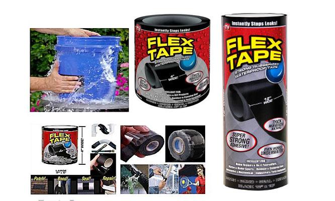 Cinta Adhesiva Impermeable Flex Tape ¡Arreglalo todo elige tamaño ¡Delivery en 24 hrs!