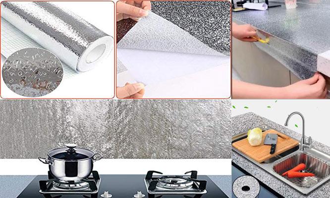 2x1 Rollos de 2m de aluminio adhesivo para cualquier espacio ¡Incluye delivery!