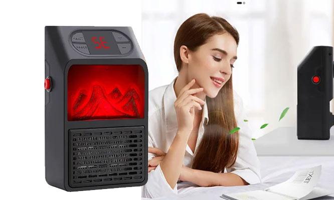 Calefactor portatil de pared 900W ¡Con delivery en 24hrs!