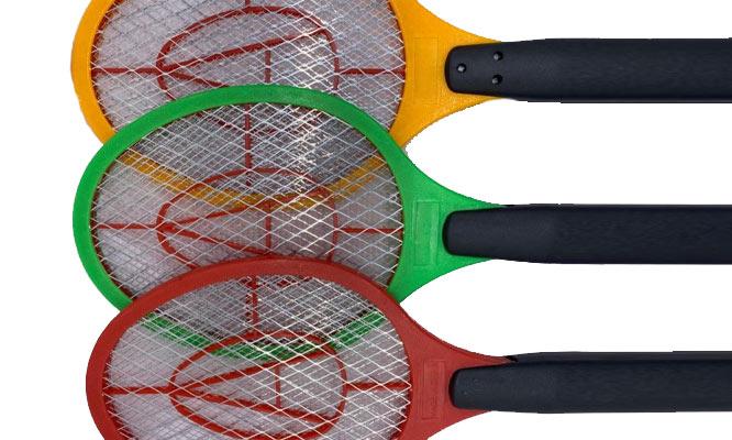 Matamoscas electrico colores surtidos RECARGABLE ¡Incluye delivery!