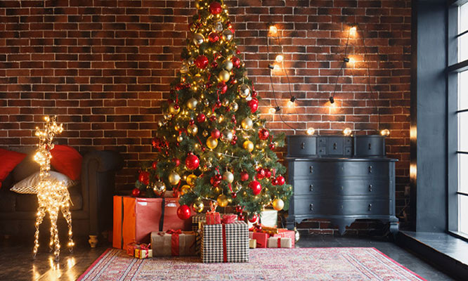 Navidad Reno con luces decorativo ¡Incluye delivery!