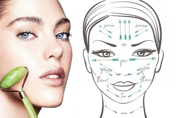 Rodillos faciales Gua Sha ¡Revive tu rostro! ¡Incluye delivery 24hrs!