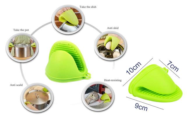 Guantes de cocina en Silicona coge ollas resistente al calor ¡Incluye delivery en 24 hrs!