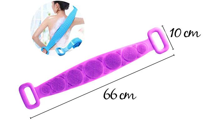 Cepillo cinturon corporal de silicona para baño ¡Delivery en 24hrs!