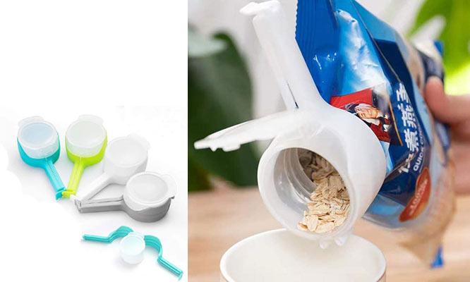Clip para sellado de alimentos con boquilla grande ¡Incluye delivery!