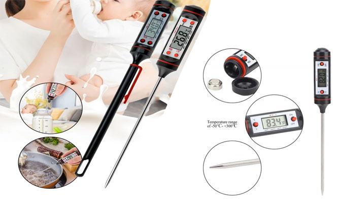 Termometro digital para cocina y manualidades ¡Con delivery en 24hrs!