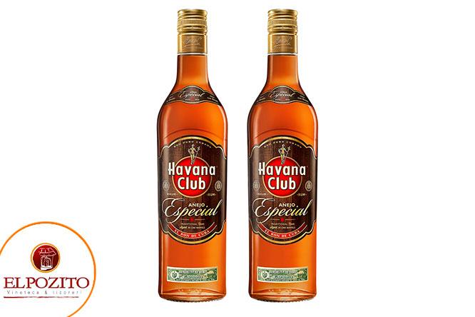 2 Ron Havana club 3 años o añejo especial o añejo reserva segun elijas delivery