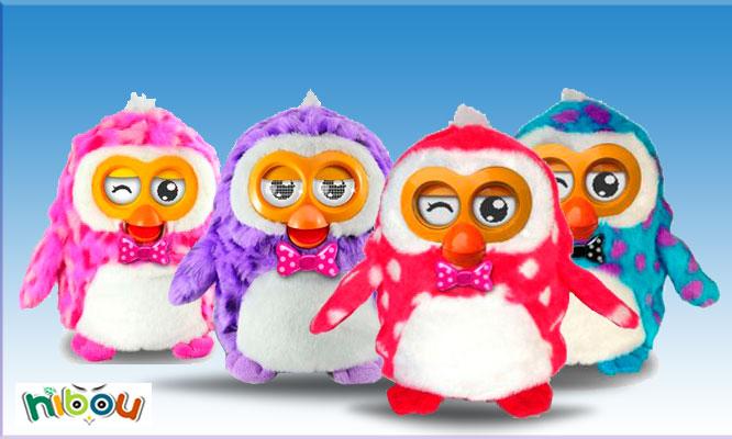 Furby Hibou pingüino interactivo en español en color a elegir delivery