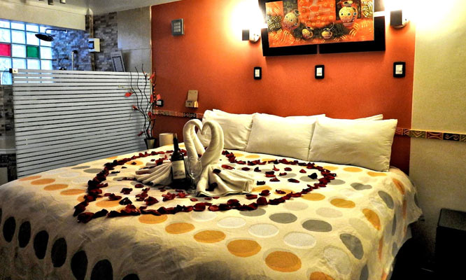 Noche Para 2 en habitacion matrimonial ¡Noche Romantica!