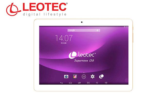 Tablet Leotec Supernova I3G en blanco o negro ¡Una Tablet con funciones de Smartphone!