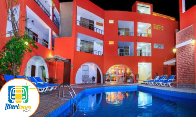 ICA 2D/1N hotel tour de aventura en Sandboard y mas