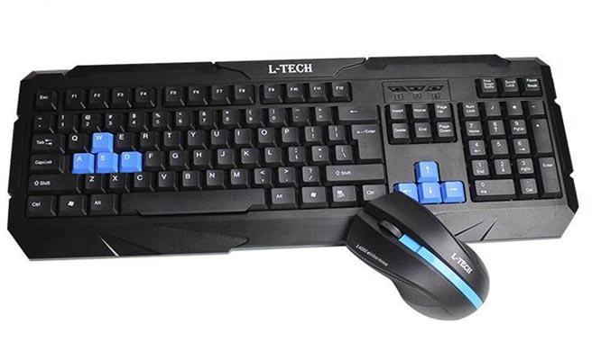 Mouse y teclado inalambricos L-TECH R200