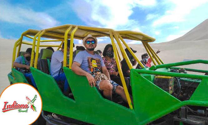 Full Day Paracas - Huacachina Transporte guia Desayuno bodega Show y mas