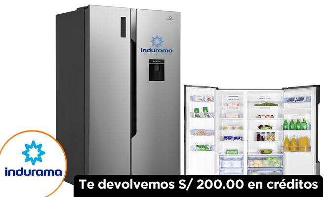 Refrigeradora Indurama RI-789D 514L ¡Incluye delivery!