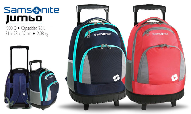 Mochilas Samsonite®Trolley con ruedas delivery