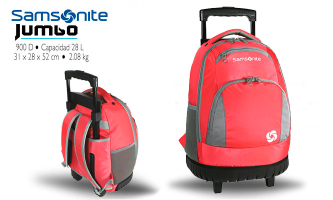Samsonite® Trolley Coral delivery