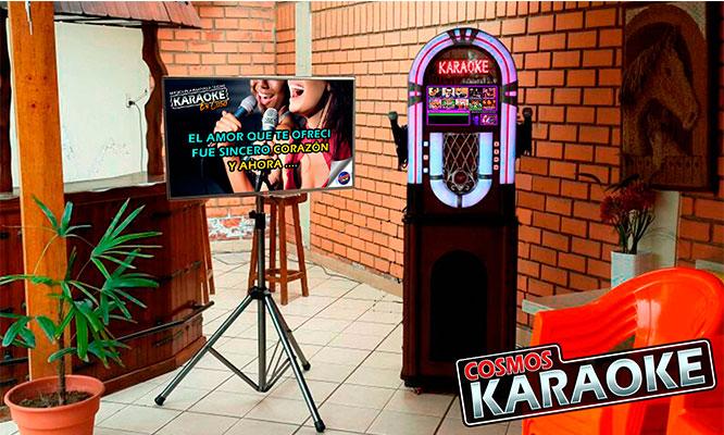 Alquiler de Karaoke digital piso LED con 45 mil canciones y mas