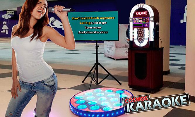 Alquiler de Karaoke digital para TODA LA SEMANA piso LED letreros y mas