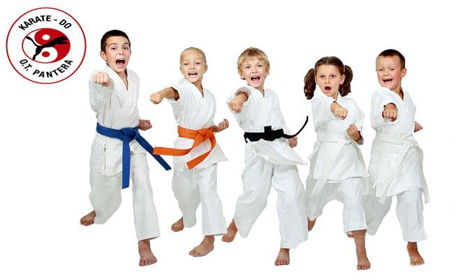 8 clases de Karate para niños en Activa Club
