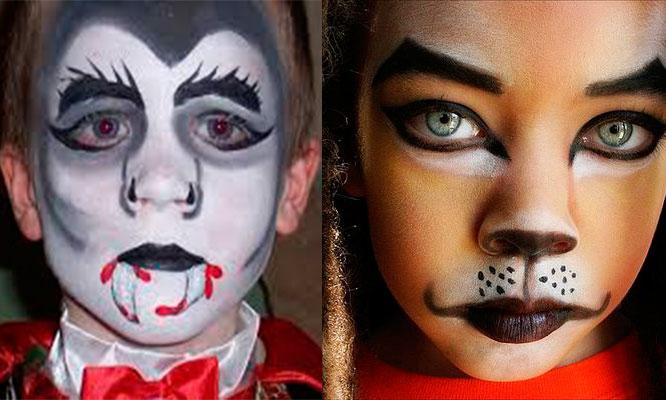 Surco Maquillaje Profesional Caracterizado Con Colores Surtidos - Maquillaje-profesional-halloween