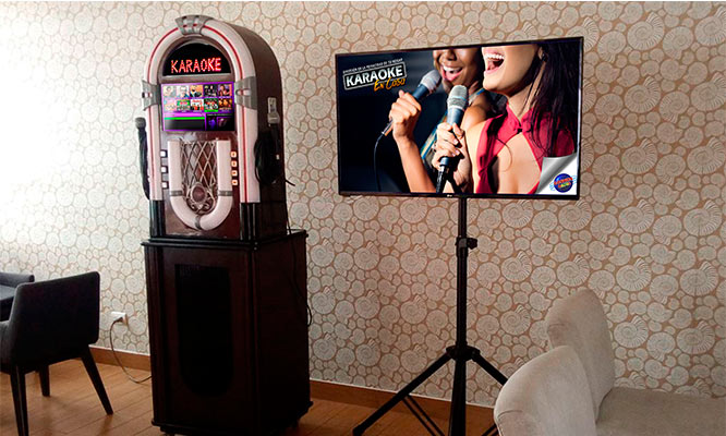 Alquiler de karaoke Digital con mas de 40 mil canciones y mas