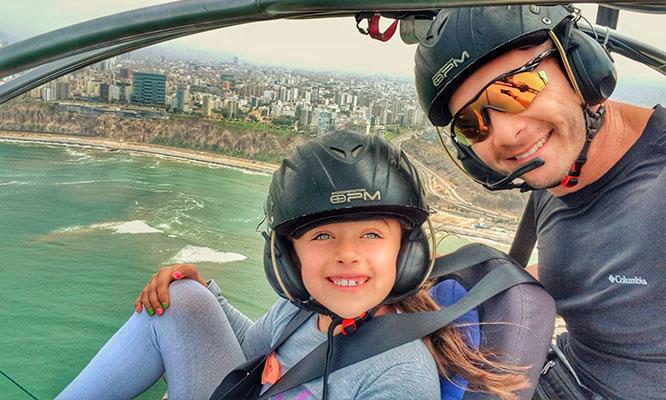 vuelo en paratrike en la Costa Verde video seguro contra accidentes con Kunturfly