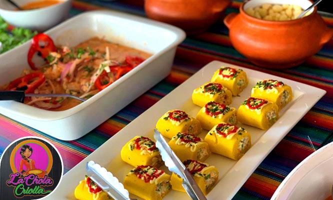 Almuerzo Buffet Criollo - Marino segun elijas en la Chola Criolla