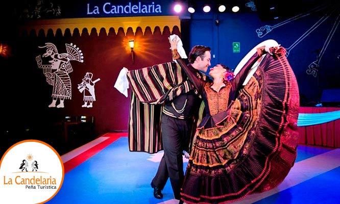 """La Candelaria 2 o 4 entradas al espectaculo """"Folclor en La Candelaria"""""""