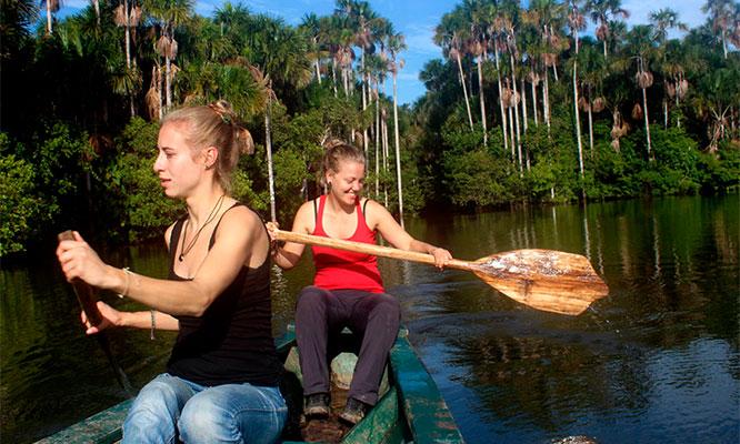 Puerto Maldonado Full Day al lago Sandoval entradas almuerzo amazonico guia y mas