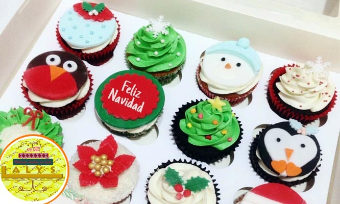 Cupcakes - Torta - Paneton -Postre Navideño Delivery