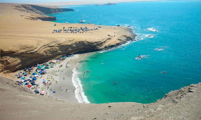 Full Day en Playa La Mina playa hermosa en la Reserva de Paracas