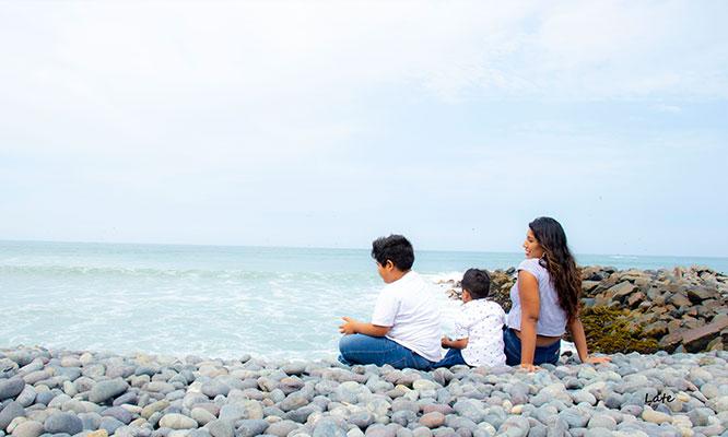sesion de fotos para pareja niños familias o embarazadas en la playa con LATE
