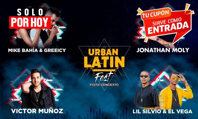Entrada para el Urban Latin Fest 2019