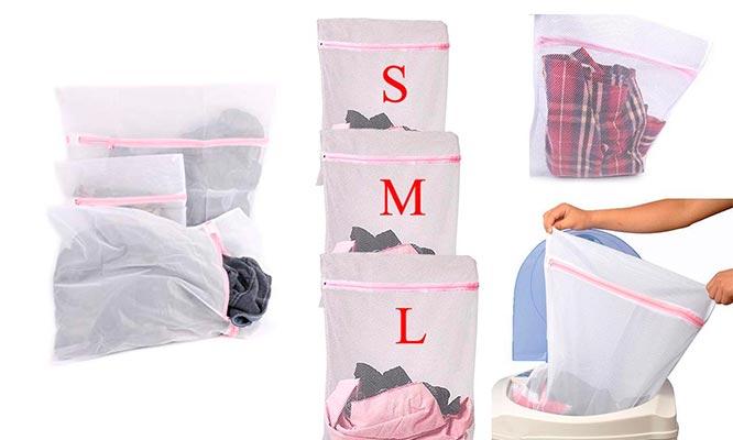 Pack de 3 Bolsas para lavadora
