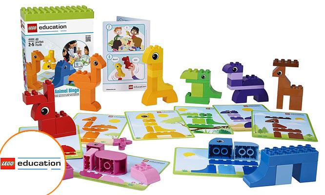 Kit Animal Bingo LEGO Education ¡Incluye delivery!