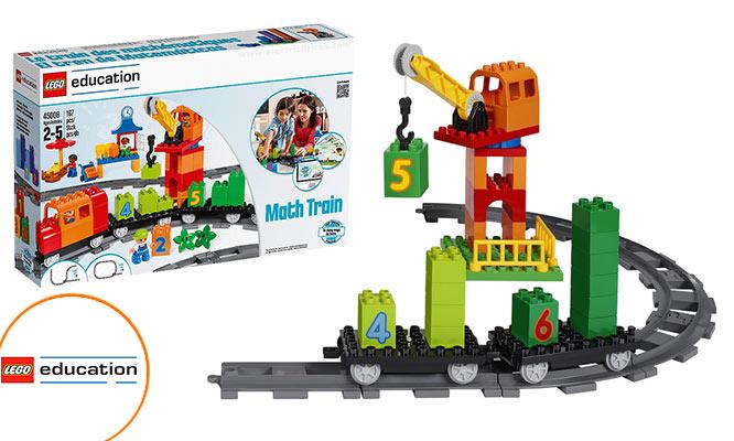 Kit Tren de las Matematicas LEGO Education ¡Incluye delivery!