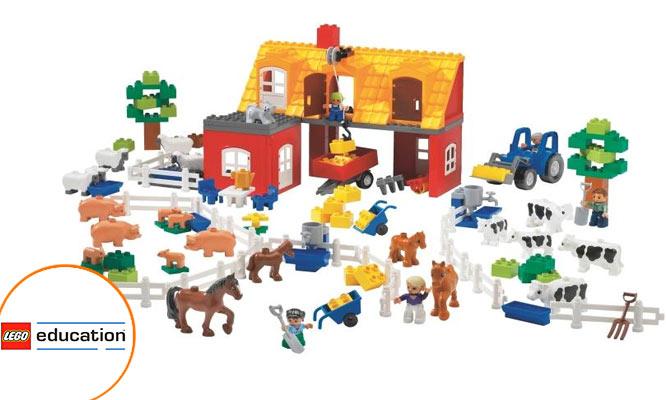Kit de la Granja LEGO Education ¡Incluye delivery!
